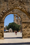 Cyprus. The city of Famagusta, built by the Venetians in the XIV-XV centuries. The photo was taken in the city of Famagusta in Cyprus Royalty Free Stock Image