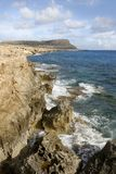Cyprus Cliffs Stock Photography