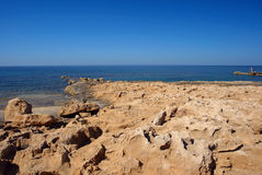 Cyprus coast Royalty Free Stock Images