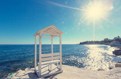 Cyprus coast Royalty Free Stock Photography