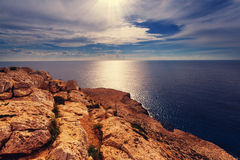 Cyprus coast Royalty Free Stock Photos