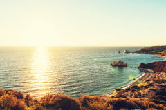 Cyprus coast Royalty Free Stock Photo