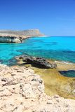 Cyprus coast Stock Photos