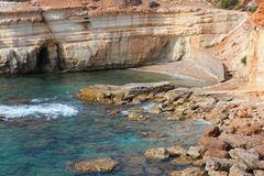 Cyprus coast Stock Images
