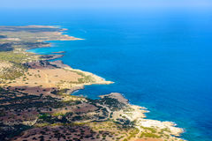 Cyprus coast view Stock Photography