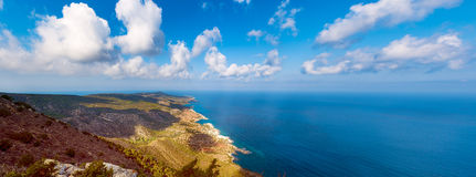 Cyprus coast view Stock Photo