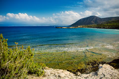 Cyprus coast view Royalty Free Stock Photography
