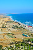 Cyprus coastline Stock Photography