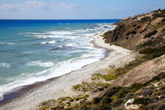 Cyprus coastline Stock Images