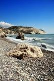 Cyprus coastline Royalty Free Stock Photos