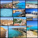 Cyprus collage Stock Image