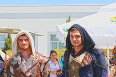 Cyprus Comic Con 2015 - Cos players Stock Photos