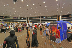 Cyprus Comic Con 2015. Cyprus Comic Con is a non-profit organisation that celebrates comic book influenced art and culture in Cyprus. With over 3000 guests in Royalty Free Stock Images