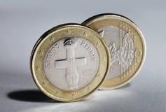 Cyprus Euro Royalty Free Stock Photos