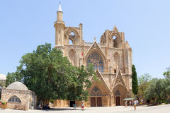 Cyprus. Famagusta. The Church of St. Nicholas (XIV century). Stock Images