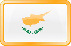 Cyprus Flag Icon Stock Photos