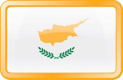 Cyprus Flag Icon stock photos
