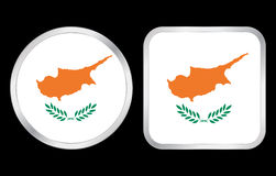 Cyprus flag icon Royalty Free Stock Image