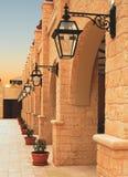 cyprus hotell Arkivbild