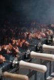 Cyprus kebab Royalty-vrije Stock Fotografie