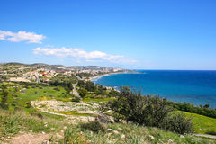 Cyprus landscape Stock Image