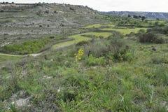 Cyprus Landscape near Kaithikas Royalty Free Stock Images