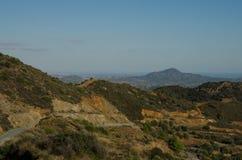 Cyprus landscape. (Near Lefkara, Larnaca region Stock Images