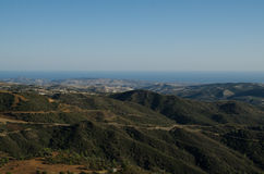 Cyprus landscape. (Near Lefkara, Larnaca region Royalty Free Stock Photography