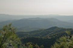 Cyprus landscape. Near Stavrovouni Monastery Stock Images