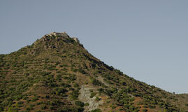 Cyprus landscape. Near Stavrovouni Monastery Royalty Free Stock Photography
