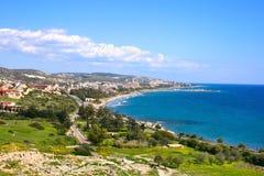 cyprus liggande arkivbild