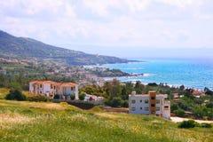 cyprus liggande arkivfoto