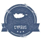 Cyprus mark. Royalty Free Stock Photo