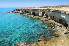 Cyprus - Mediterranean sea Stock Photo