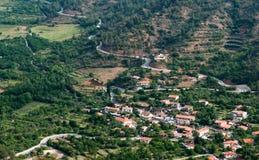 Cyprus mountain Village Royalty Free Stock Image