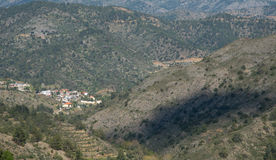 Cyprus Mountain village of Askas Royalty Free Stock Photography
