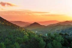 Cyprus mountains Stock Photos