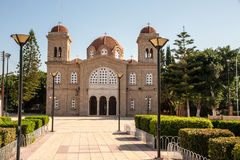 Cyprus Orthodox Monastery Stock Photo
