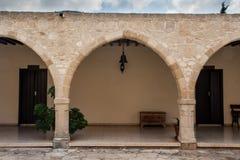 Cyprus Orthodox Monastery Stock Photo
