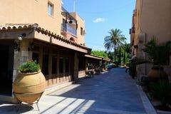 Cyprus 2011. Paphos lane Royalty Free Stock Photo