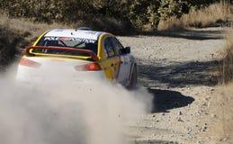 Cyprus Rally championship Stock Photos