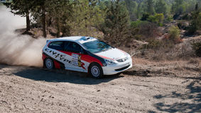Cyprus Rally championship Royalty Free Stock Photo