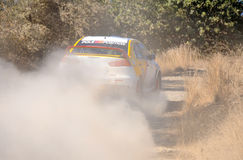 Cyprus Rally championship Royalty Free Stock Photography
