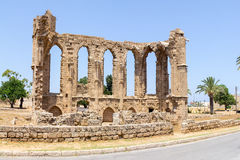 Cyprus. The ruins of the old Church in the city of Famagusta, built by the Venetians in the XIV-XV centuries . Stock Photography