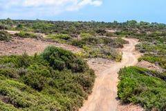 Cyprus rural landscape Stock Photos