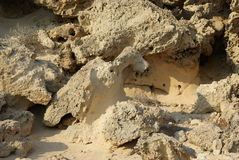 Cyprus Sand Stoun Stock Photo