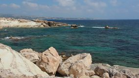 Cyprus sea stock footage