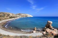Cyprus seashore landscape Royalty Free Stock Images