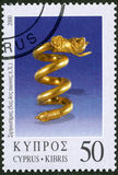 CYPRUS - 2000: shows Various pieces of jewelry, series Jewelry Royalty Free Stock Images