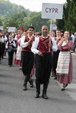 Cyprus traditional folk group Royalty Free Stock Images